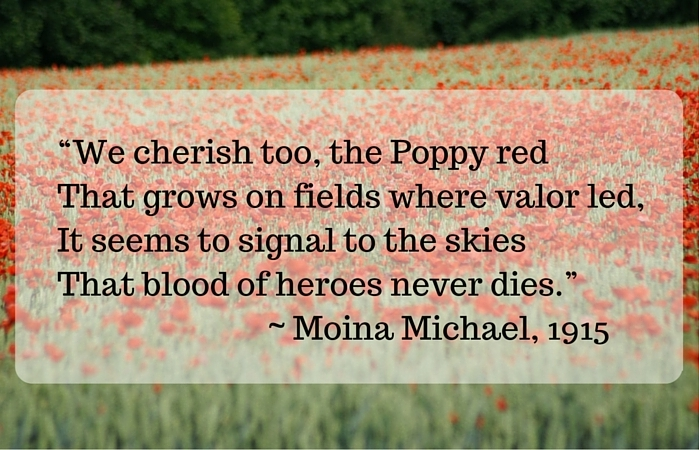memorial day poppies